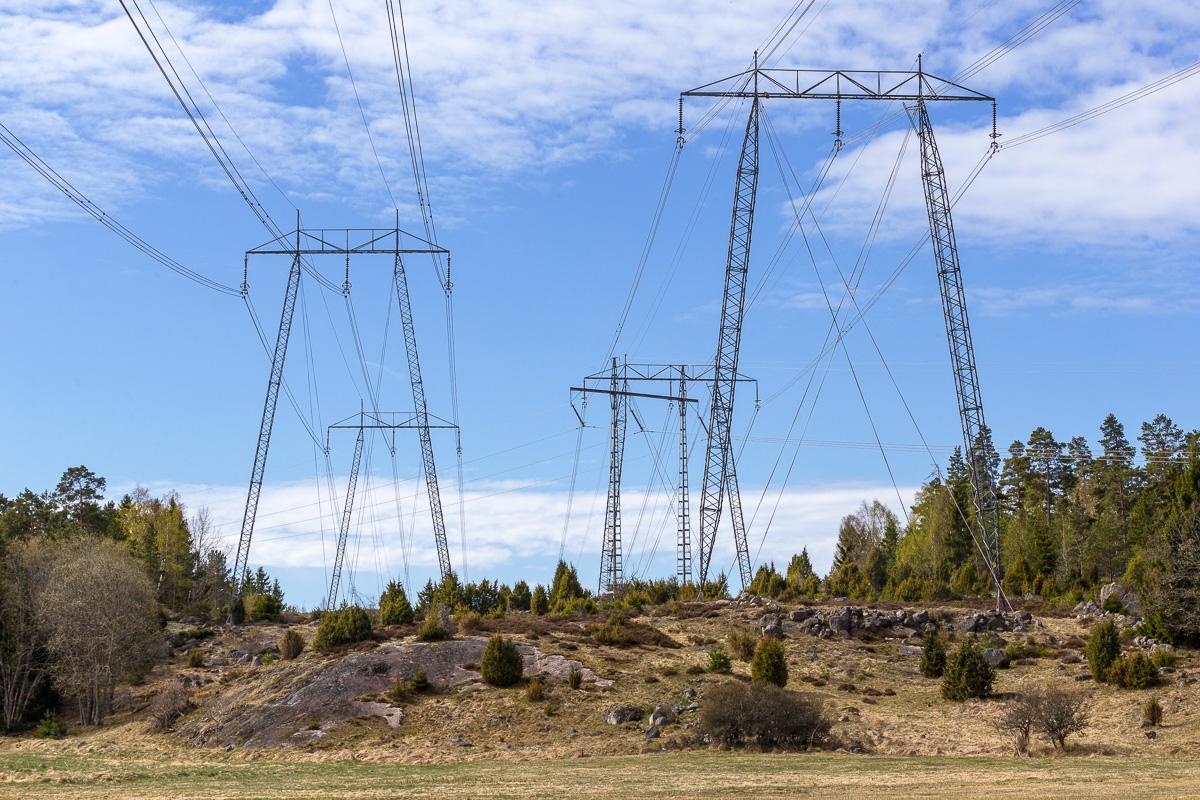 Svenska kraftnät säkrar kraftledningar med hjälp av GIS