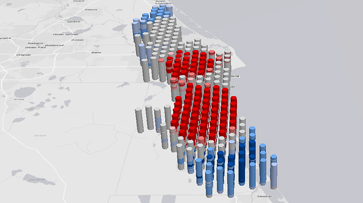 3D-analys av bilolyckor i ArcGIS Pro