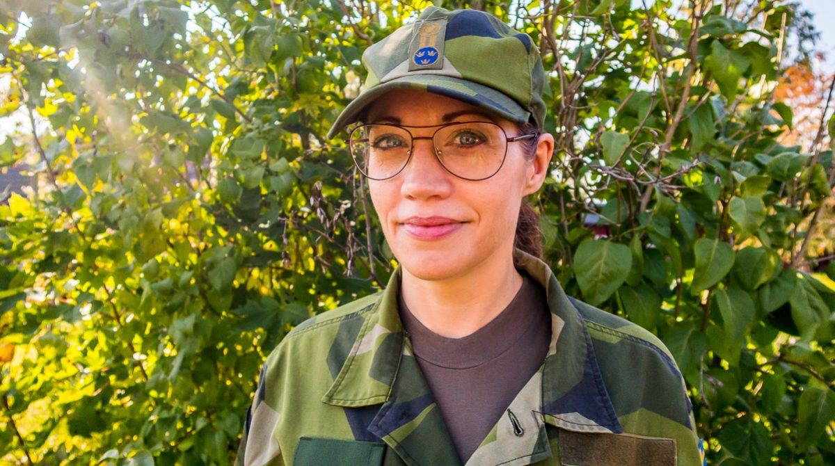 Annelie Strand, Försvarsmakten