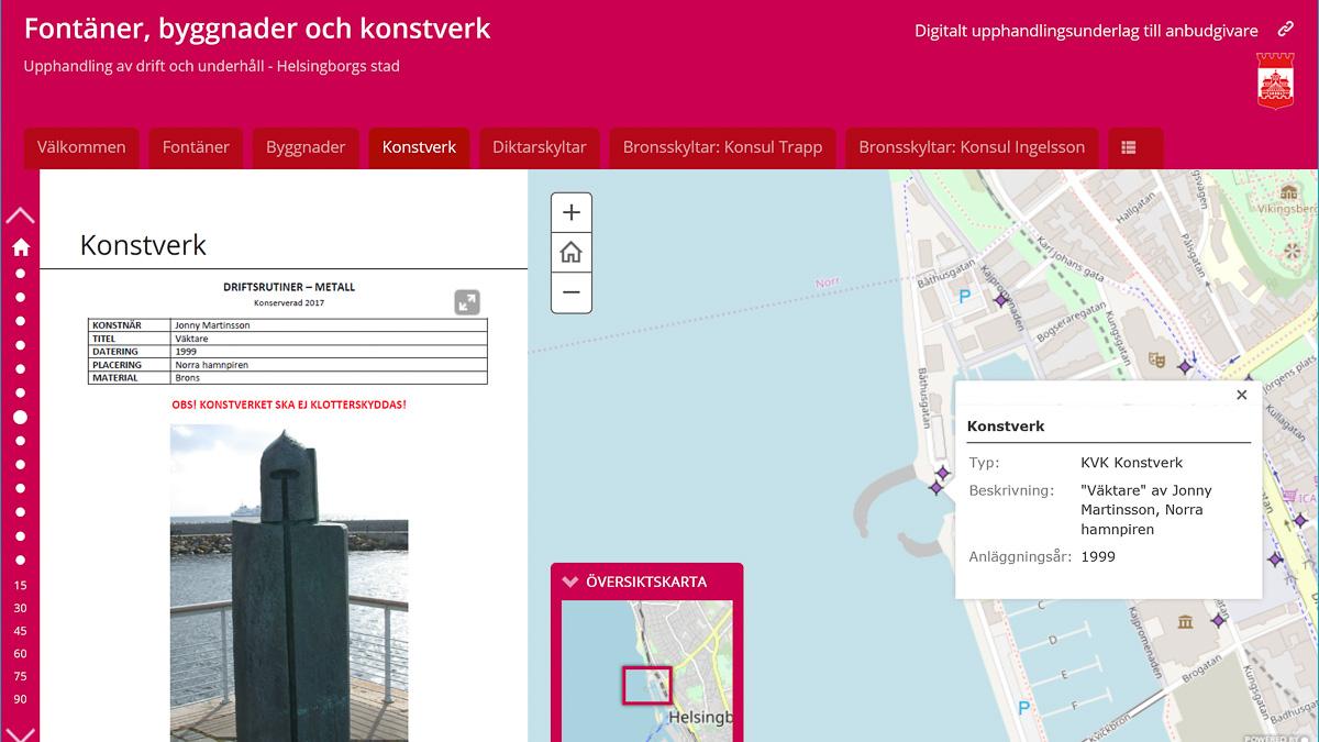 Helsingborg använder Story Map i upphandling