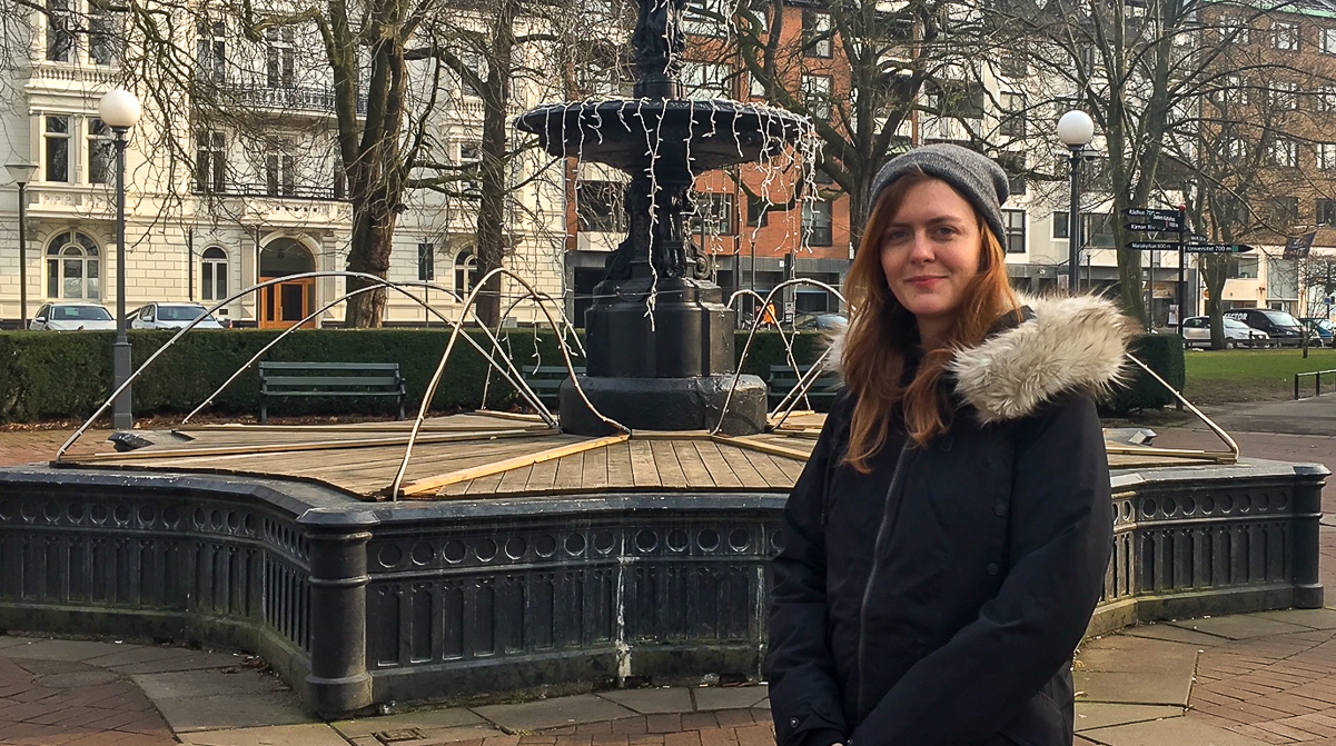 Sofia Valentin, GIS-ingenjör i Helsingborg Stad