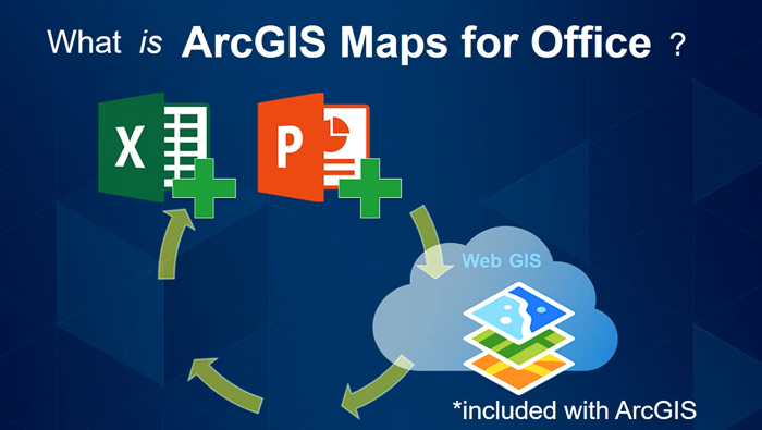Använda kartor direkt i Excel och Powerpoint