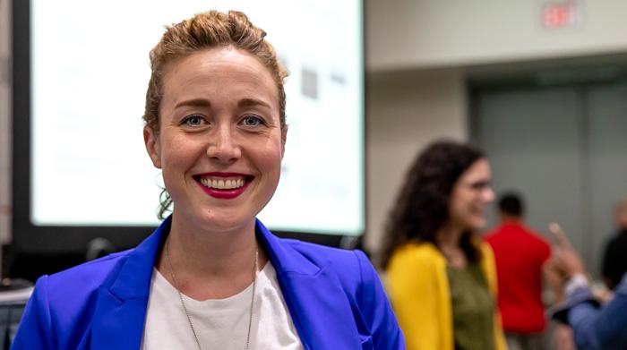 Lauren Bennet på Esri UC 2018