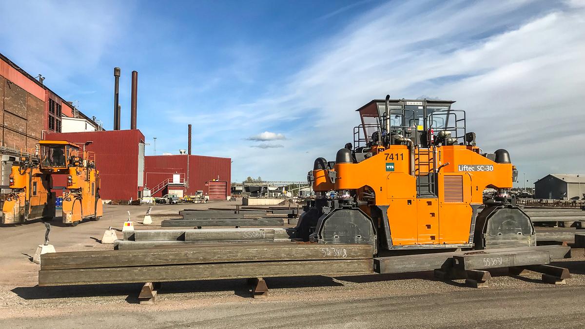 Truckar kör effektivt i Sandvik tack vare GIS