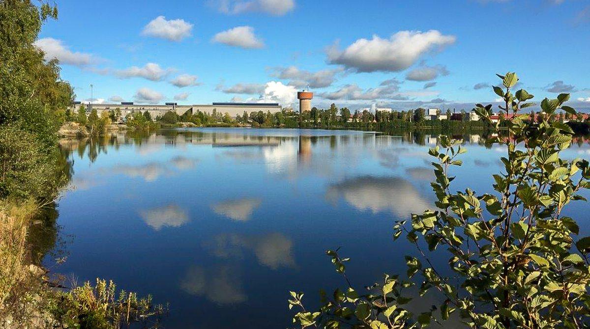 Damm vid Sandvik