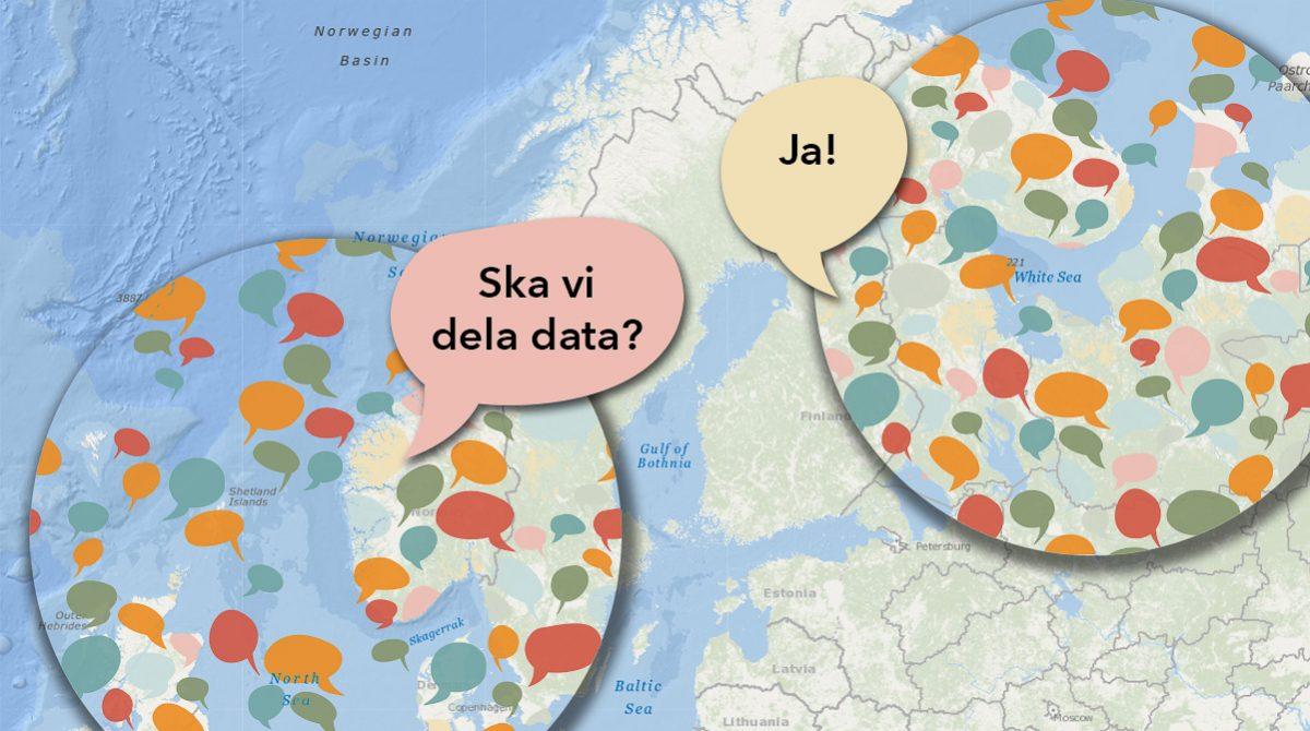Dela data mellan organisationer