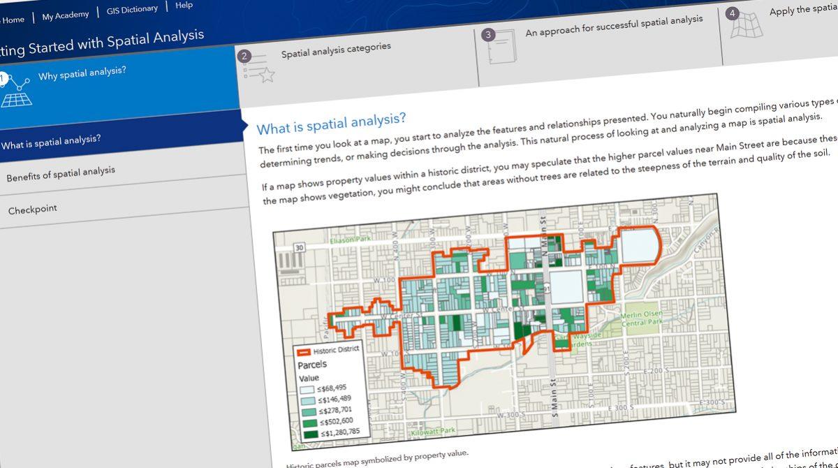 E-kurs i geografisk analys
