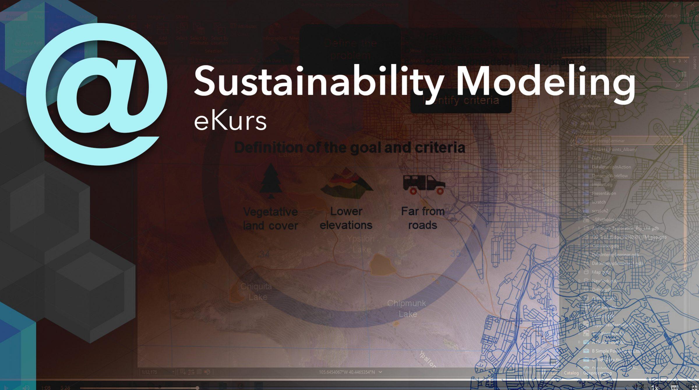 e-kurs i Sustainability Modeling
