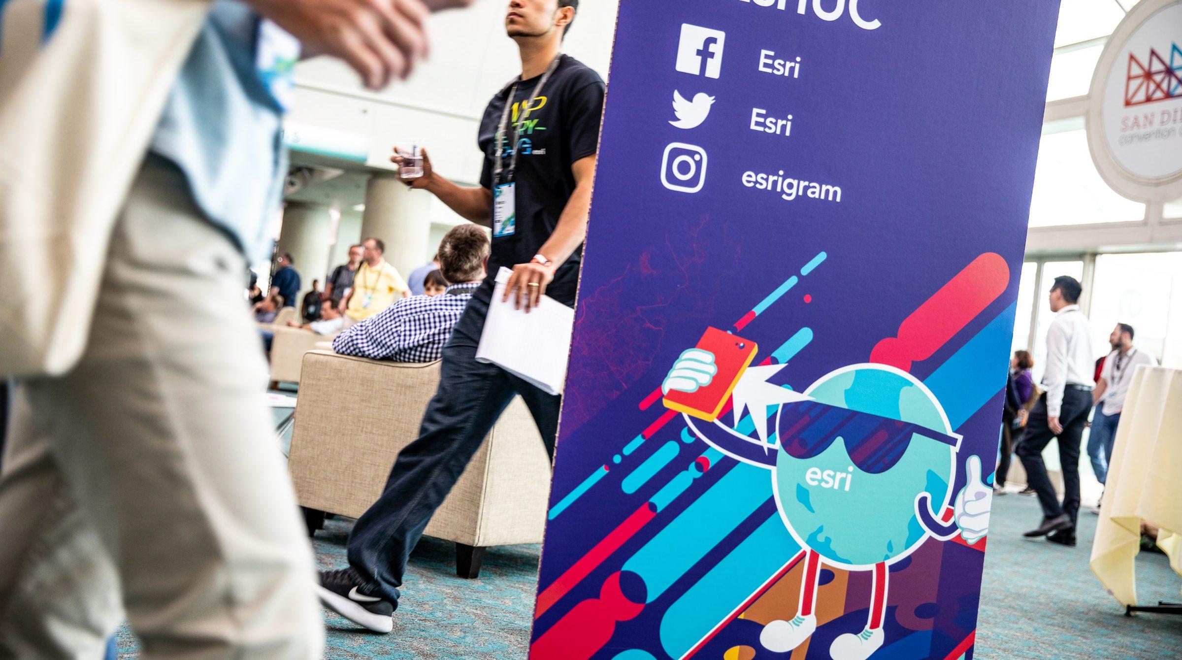 Esris användarkonferens i San Diego, Kalifornien