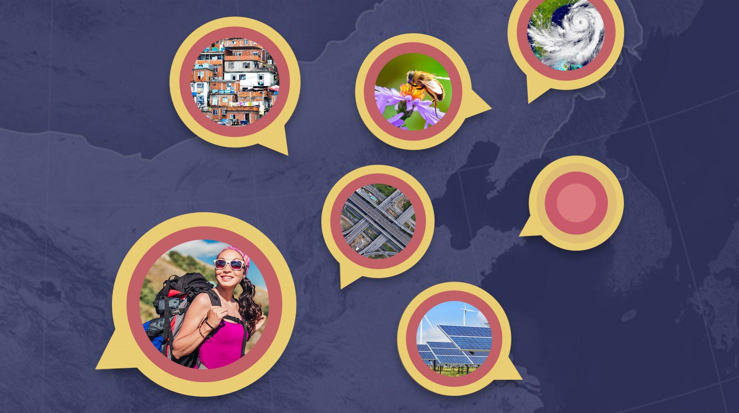 Kommunicera smidigt med Story Maps
