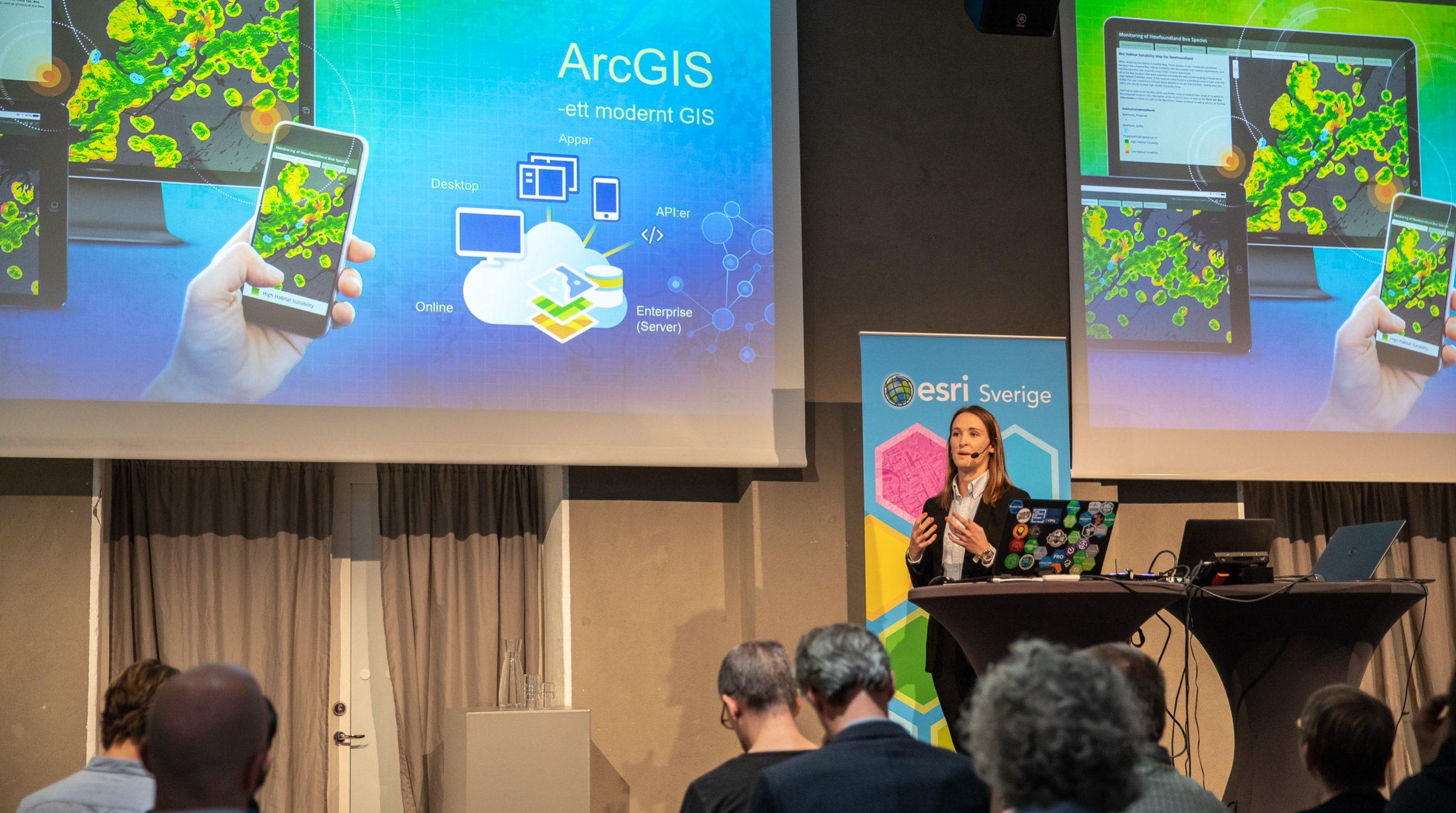 Välkommen till ArcGIS Användardagar