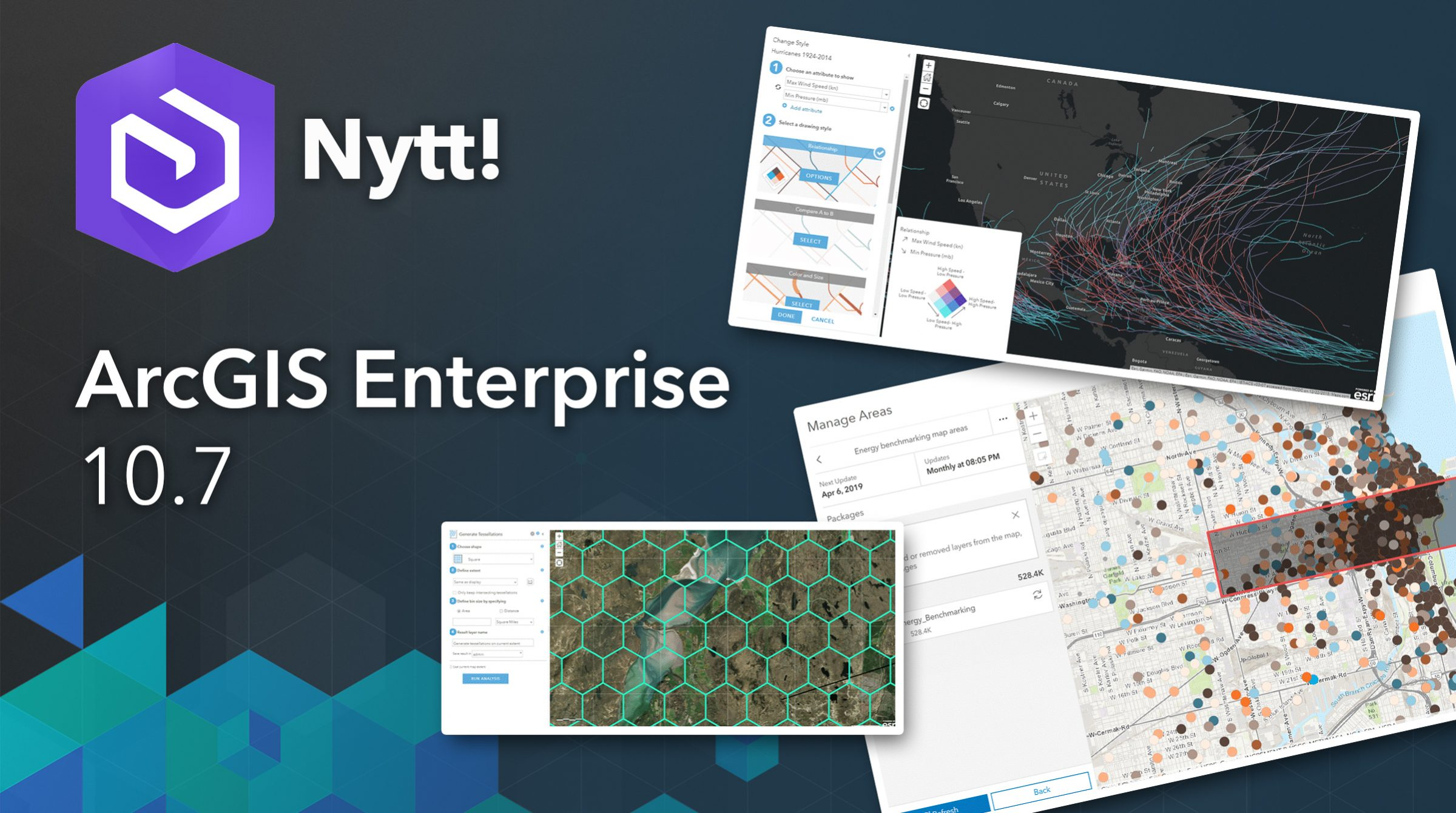 Nytt i ArcGIS Enterprise