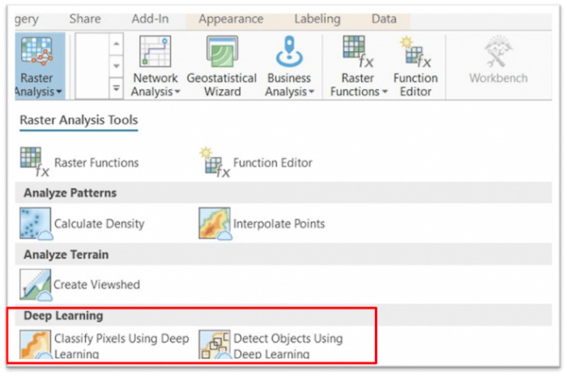 Deep learning i ArcGIS Pro