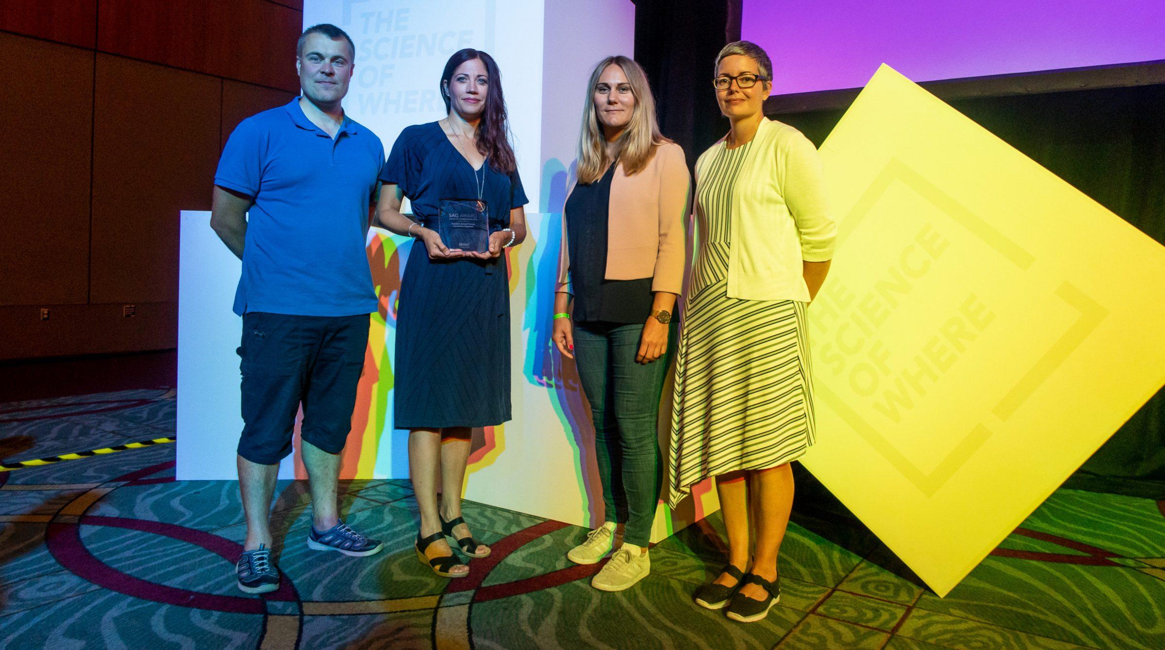 Försvarsmakten vinnare av SAG-award 2019