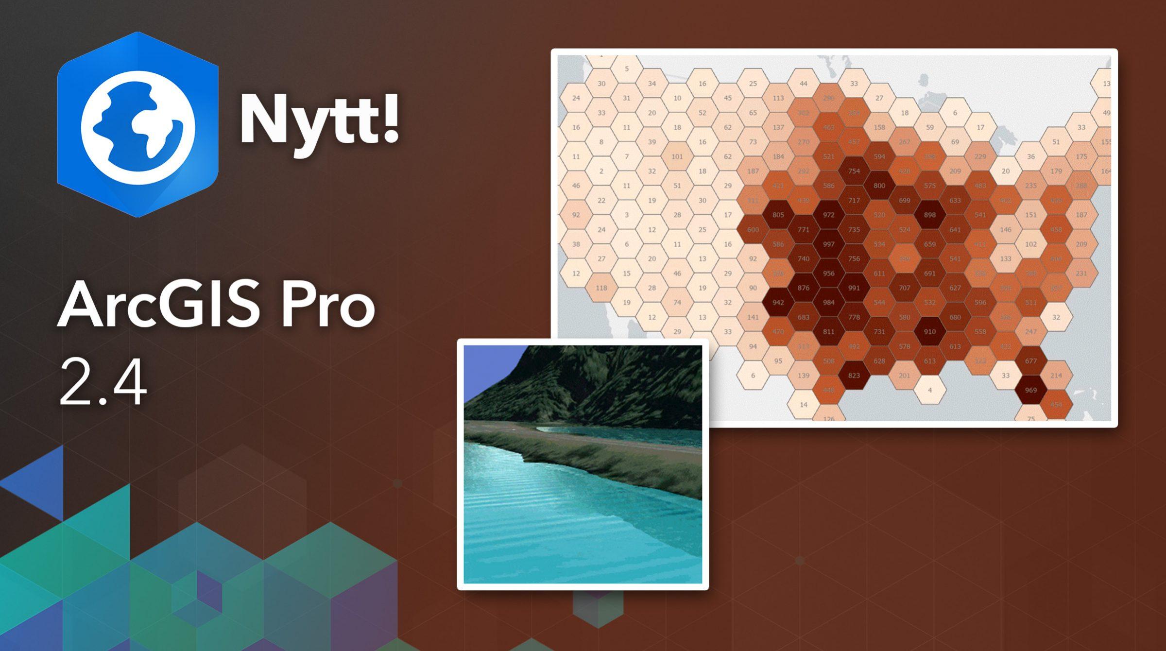 Nytt i ArcGIS Pro 2.4
