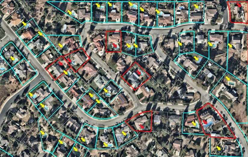 Object detection av pooler med ArcGIS