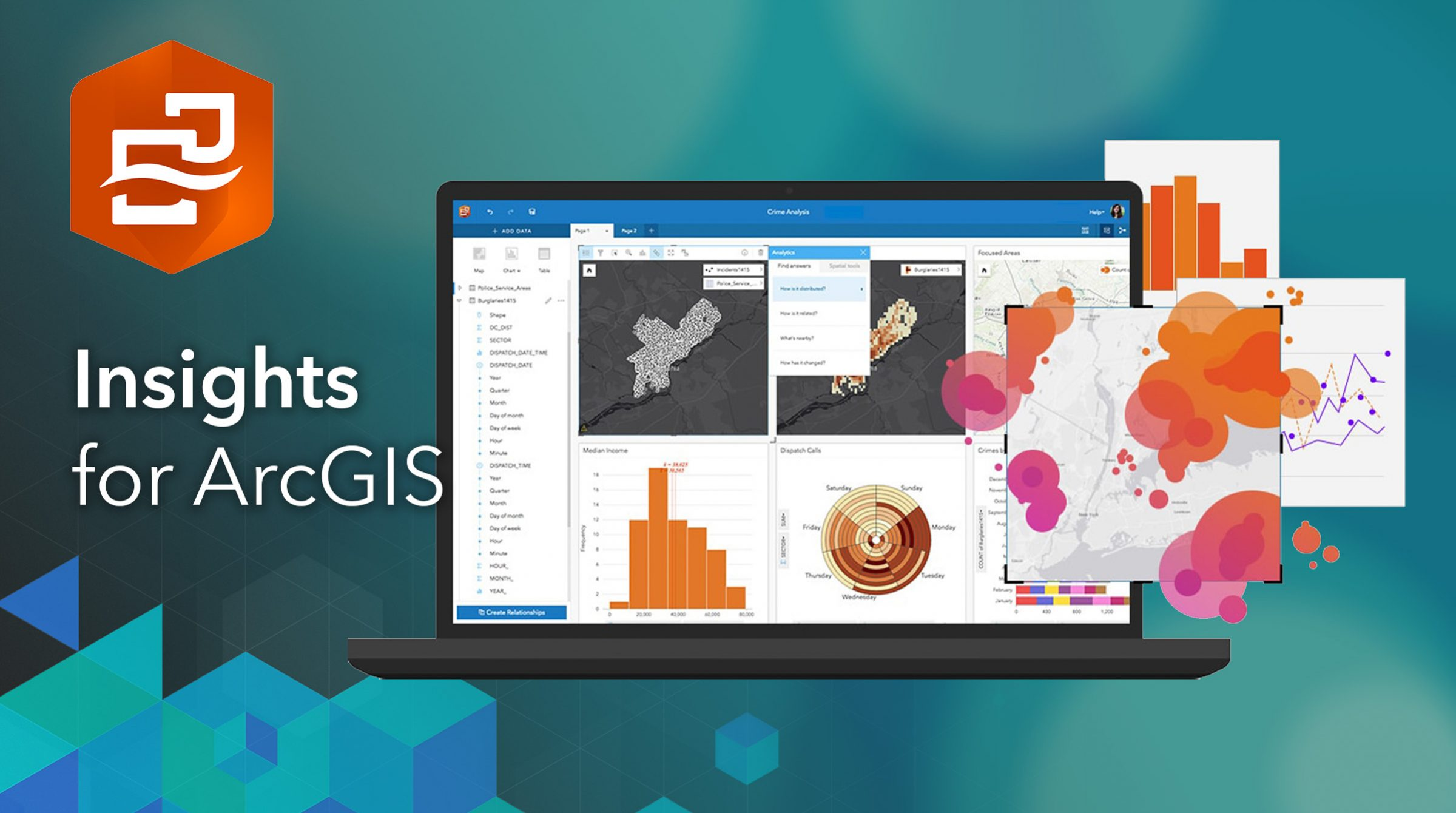 Insights for ArcGIS - smart app för analys