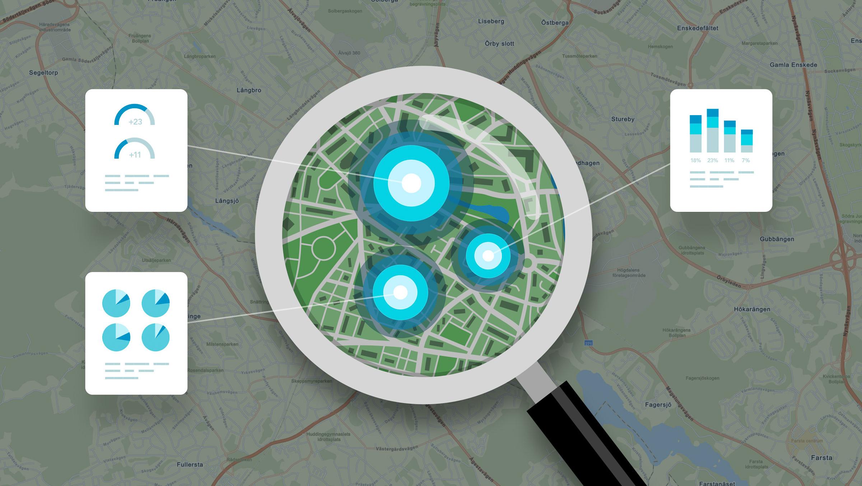 GIS - IT-systemet som kan läsa en karta