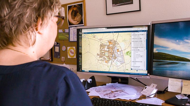 Digital karta i ArcGIS