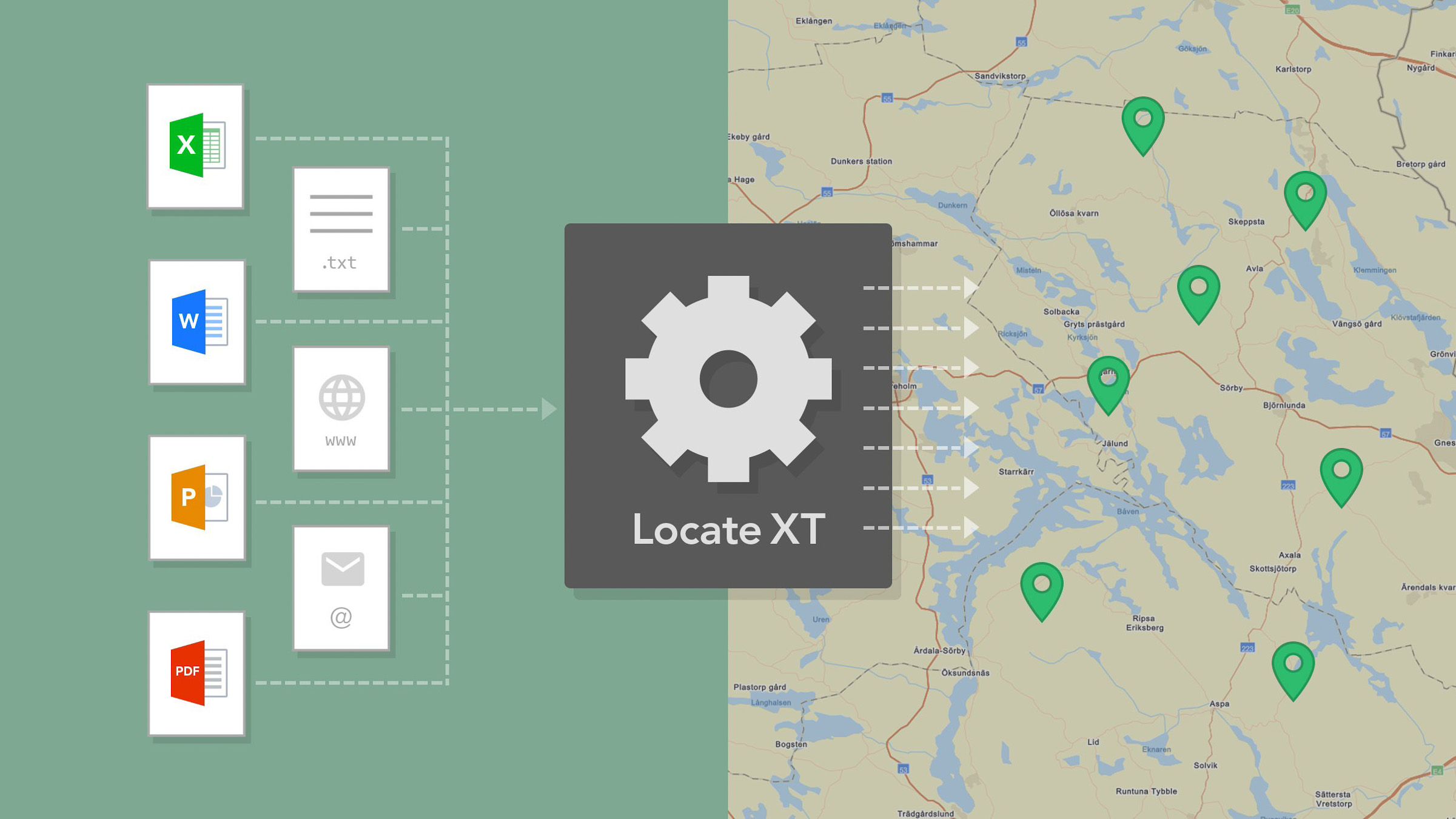 Automatisera med LocateXT i ArcGIS