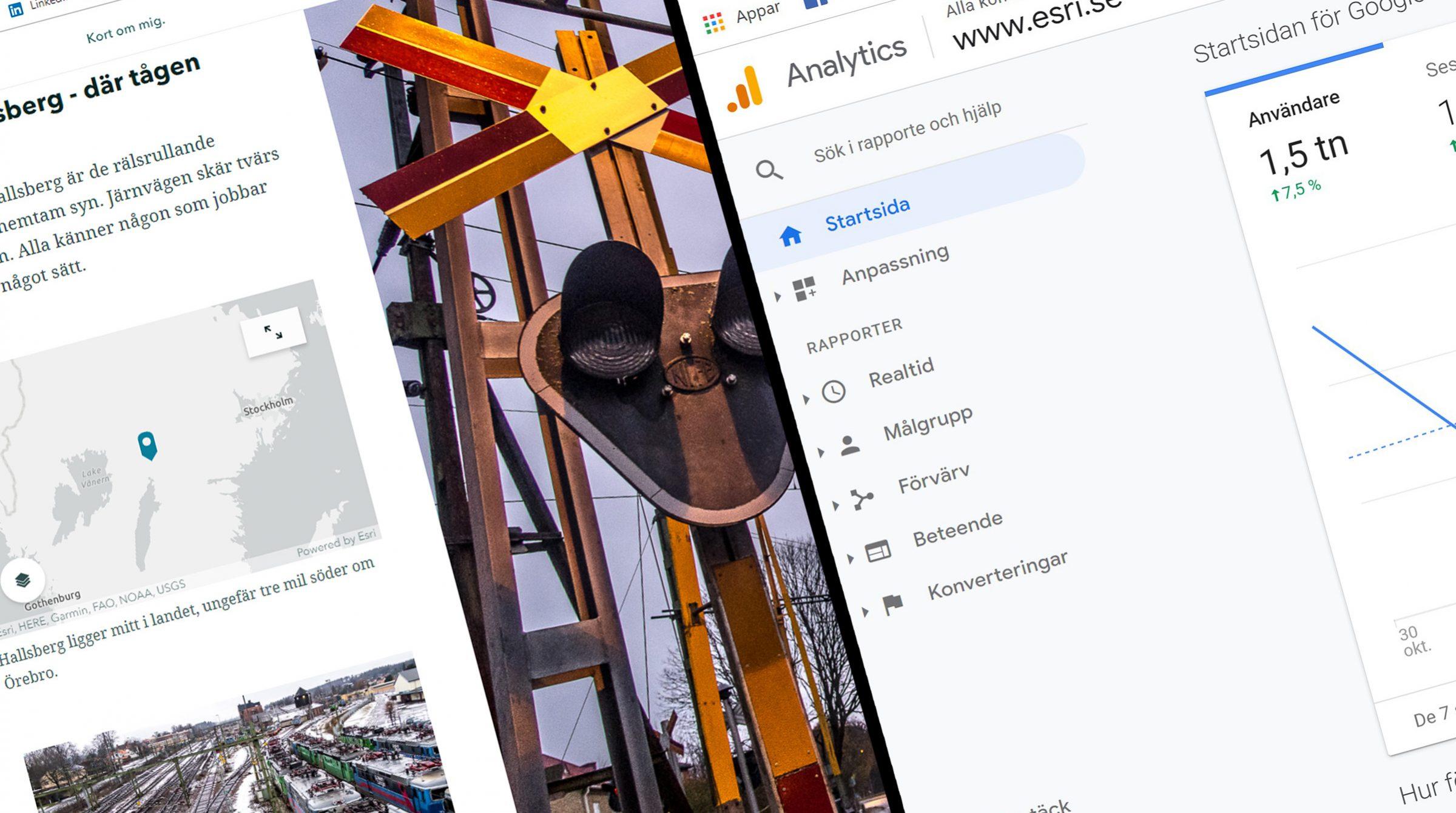 Spåra StoryMaps med Google Analytics