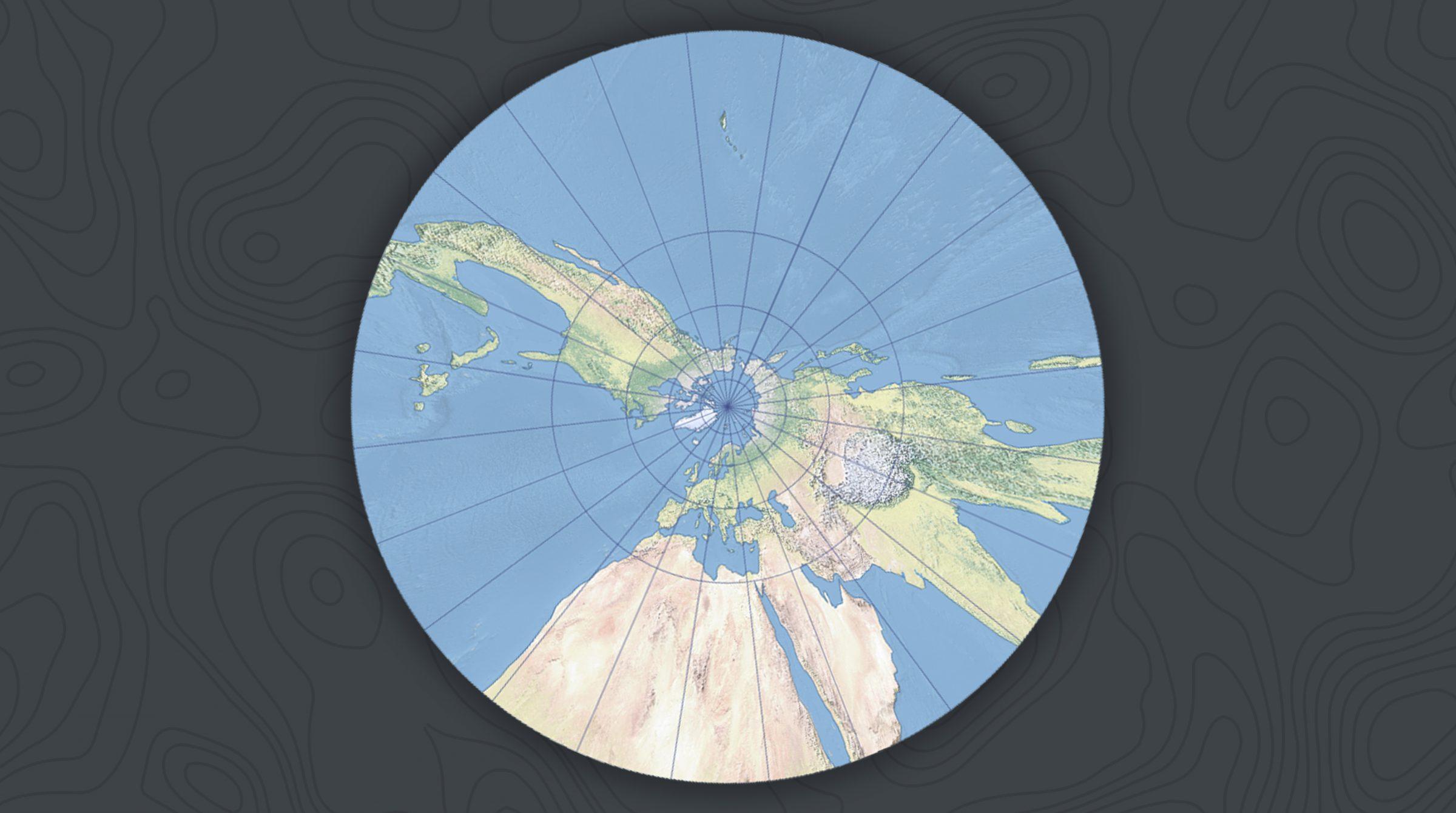 Gnomonisk kartprojektion