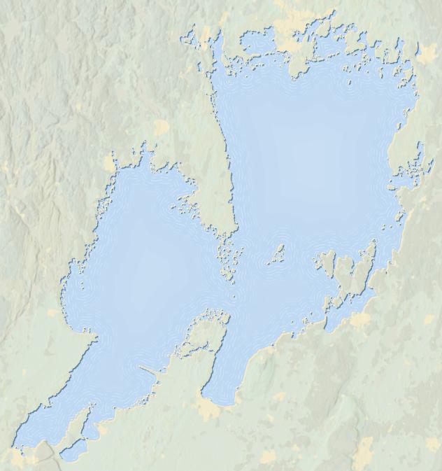 Visualisering av vattendjup
