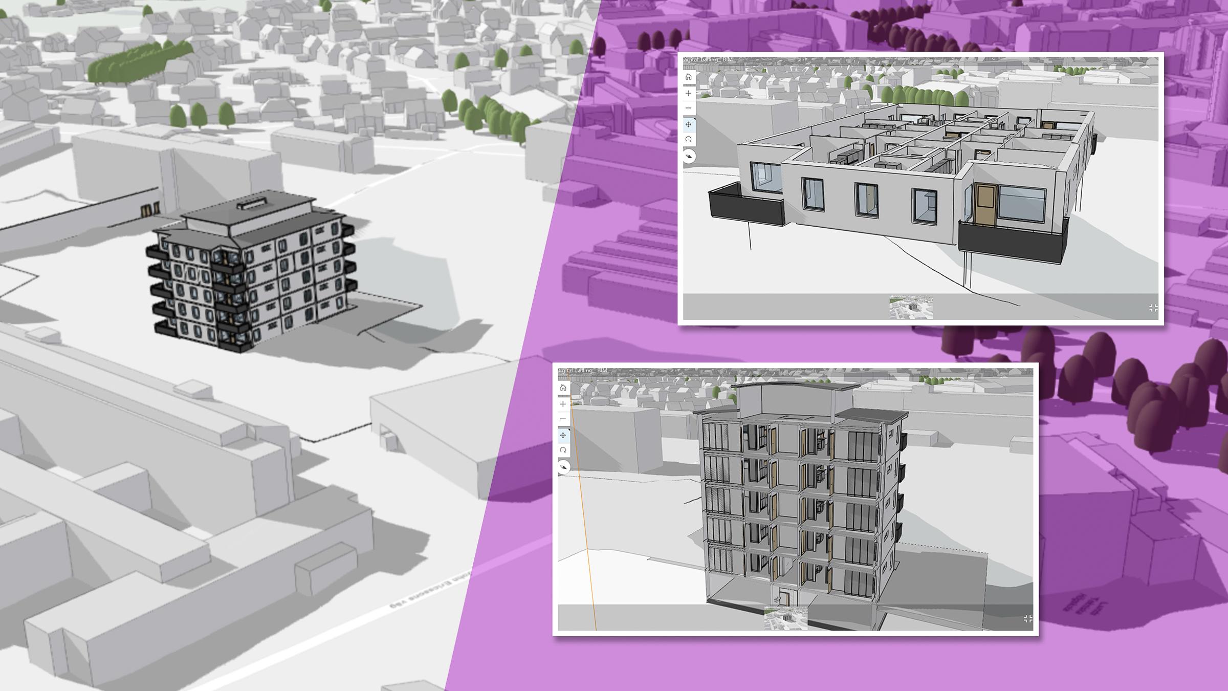 Byggnadsmodell i BIM