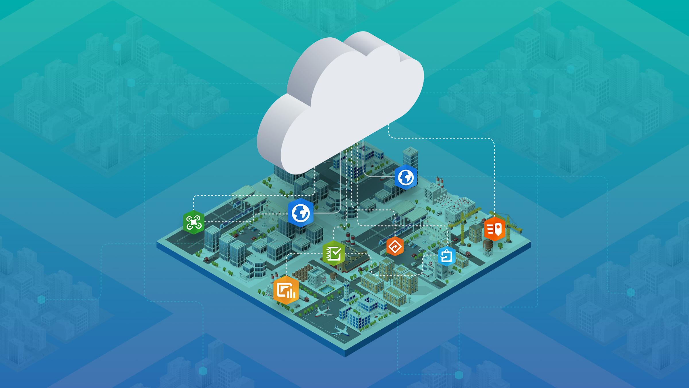 ArcGIS-plattform minskar ner systempark
