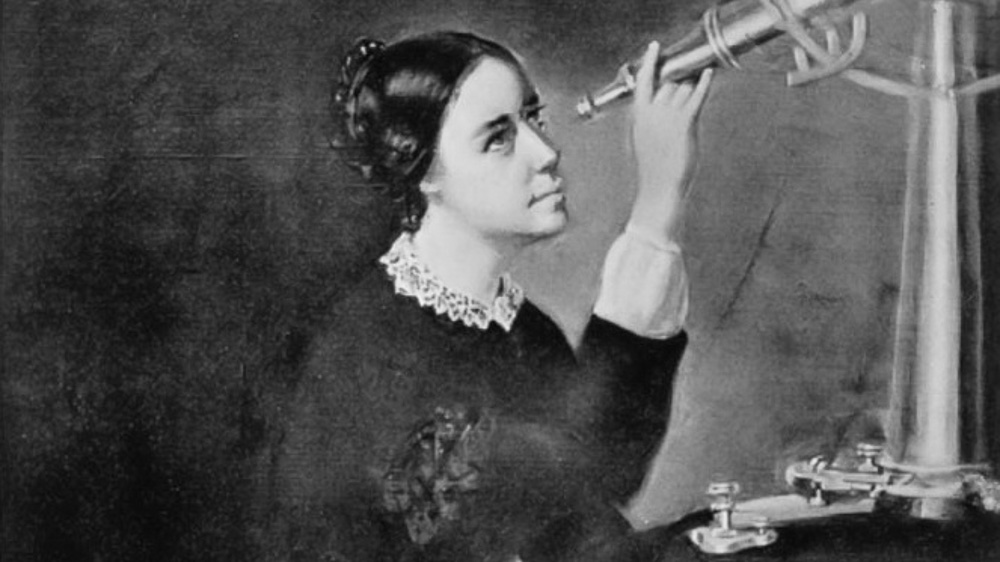 Maria Mitchell upptäcker komet