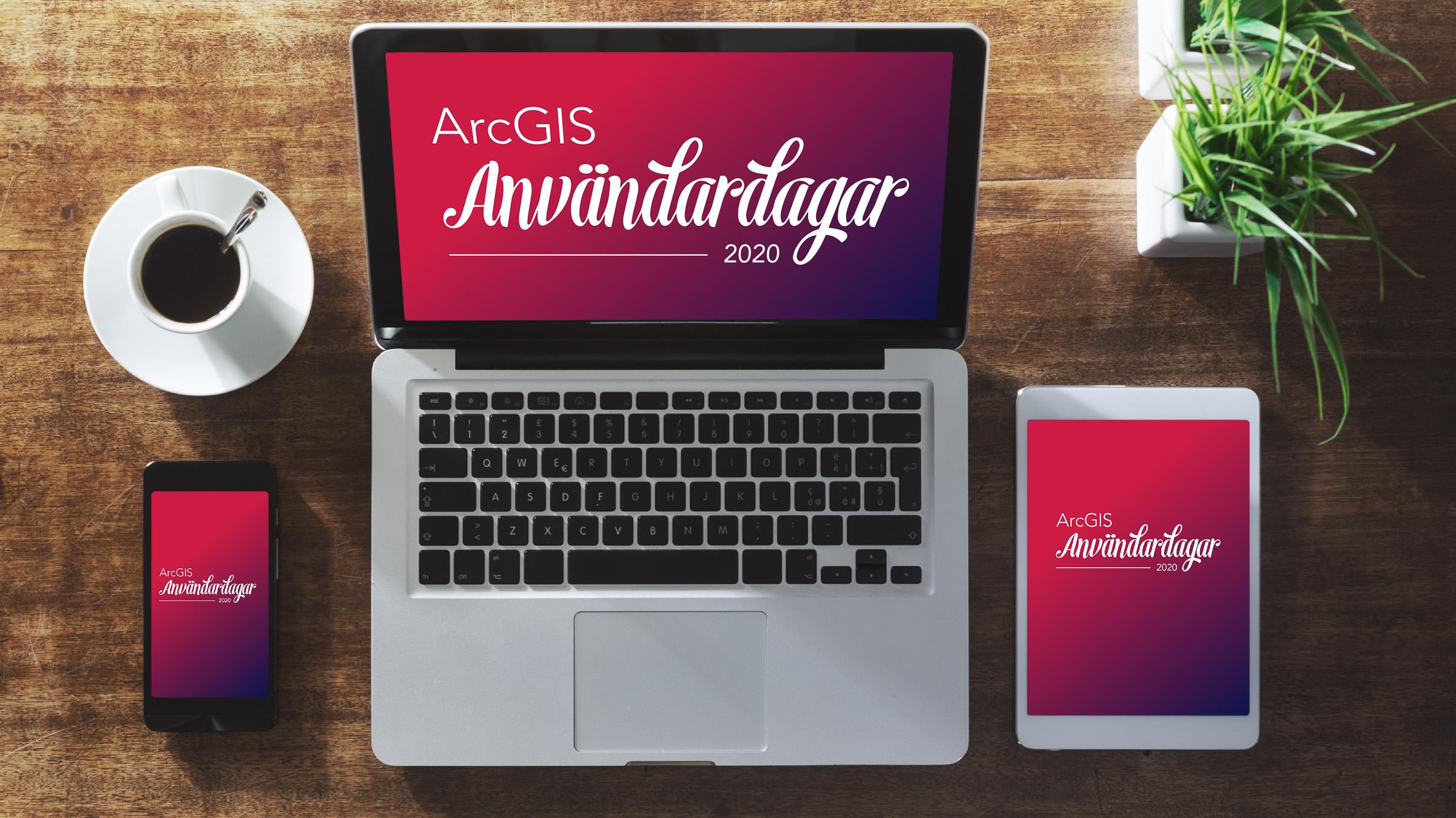 ArcGIS användardagar 2020 blir digital