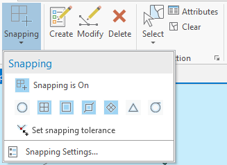 snapping i ArcGIS Pro