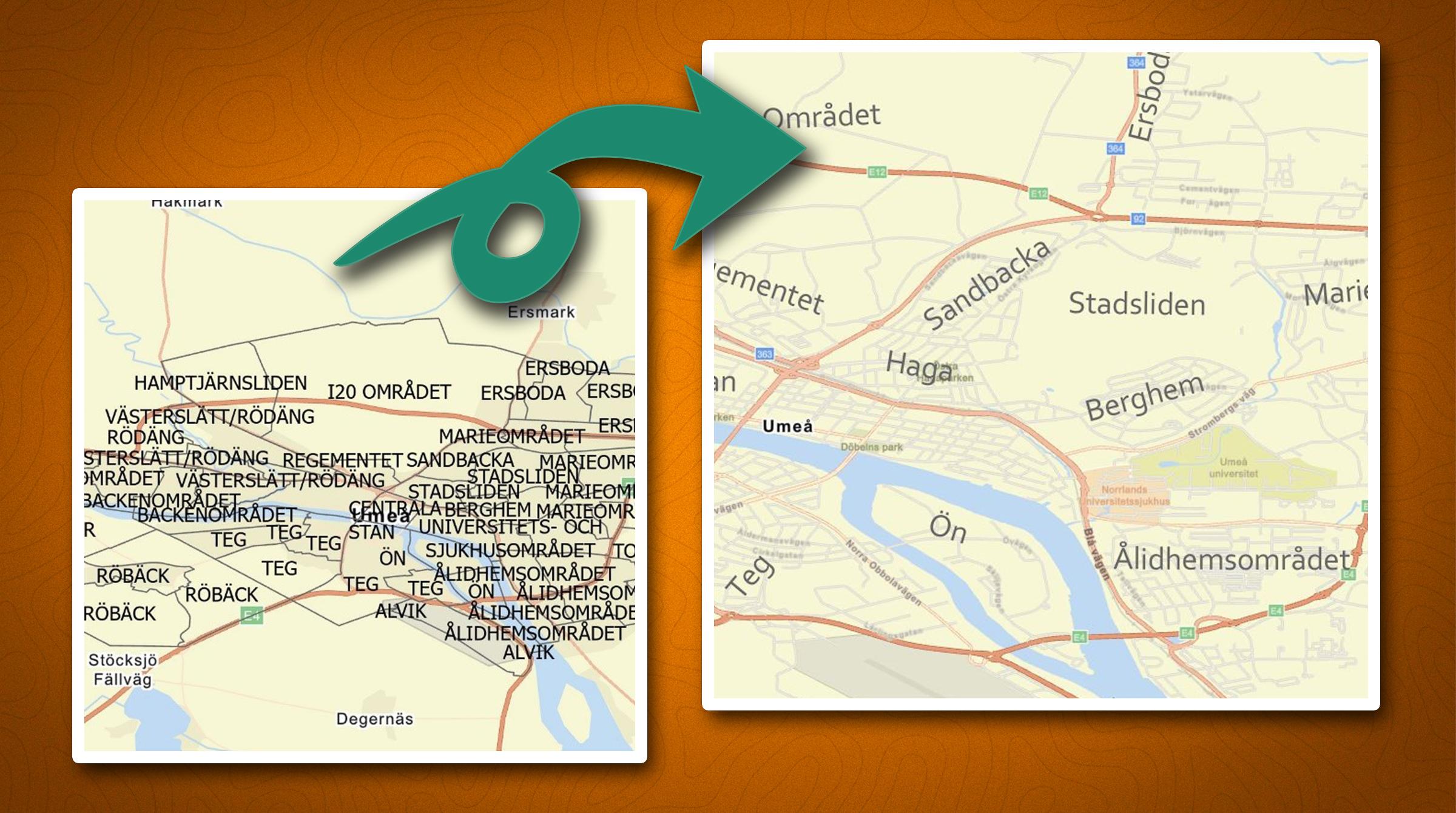 Snyggare text på din karta i ArcGIS Pro med Arcade