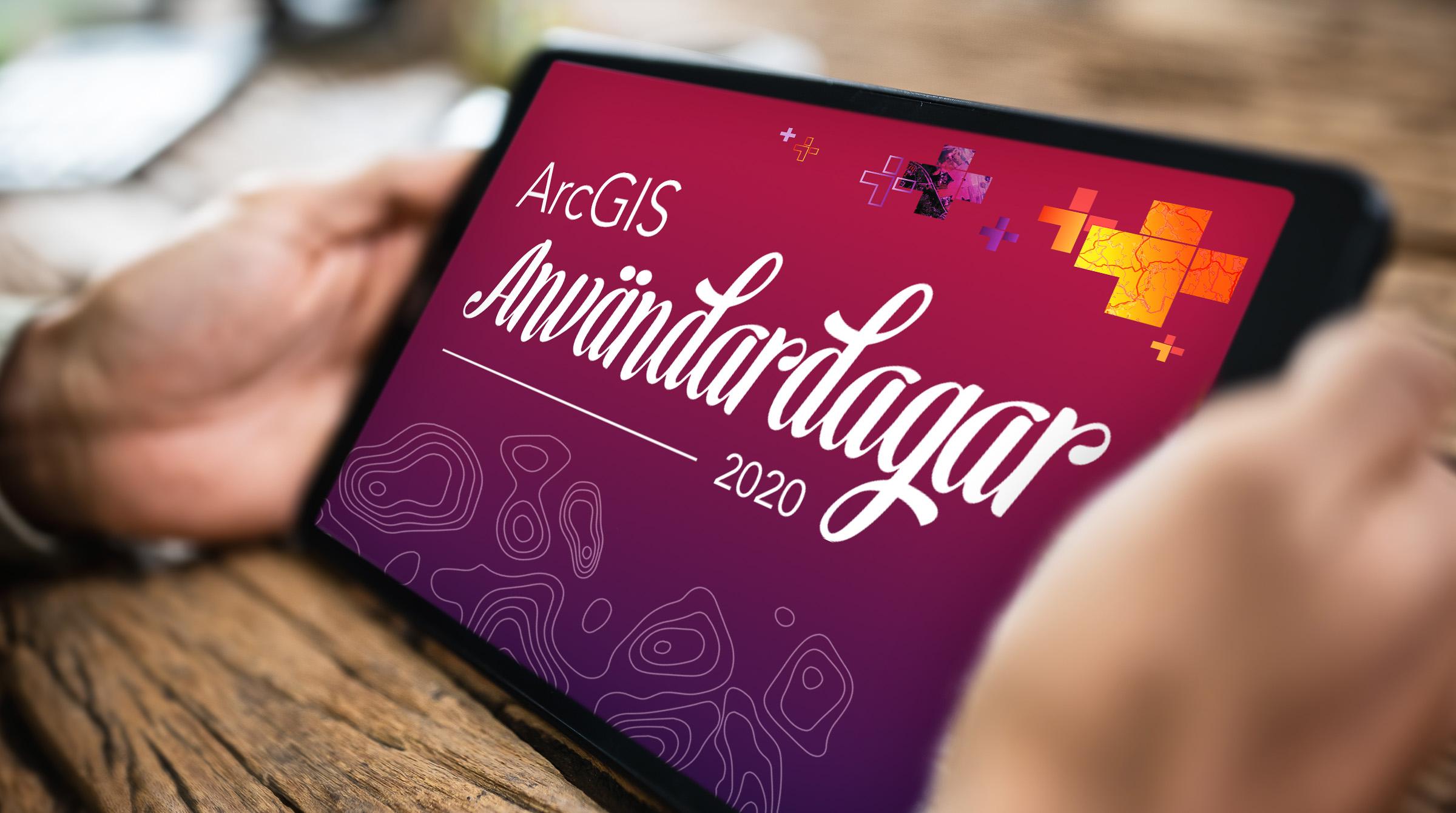 Titta på ArcGIS Användardagar 2020