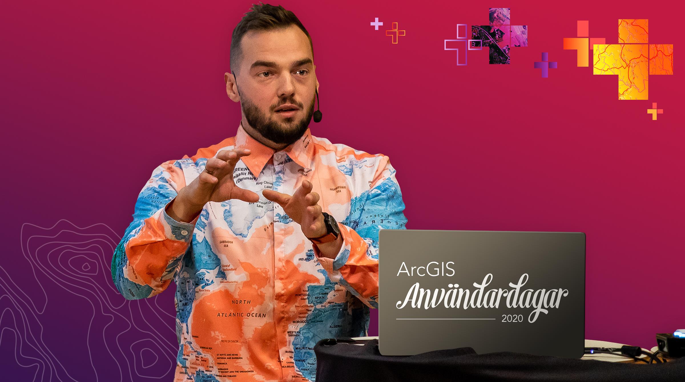 GIS-expert förklarar fråga om ArcGIS