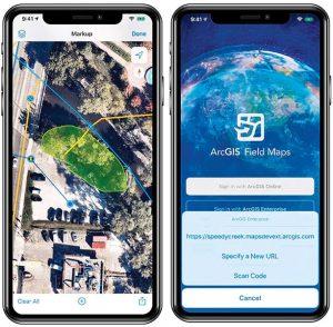 ArcGIS Field Maps är en ny fältapp i ArcGIS