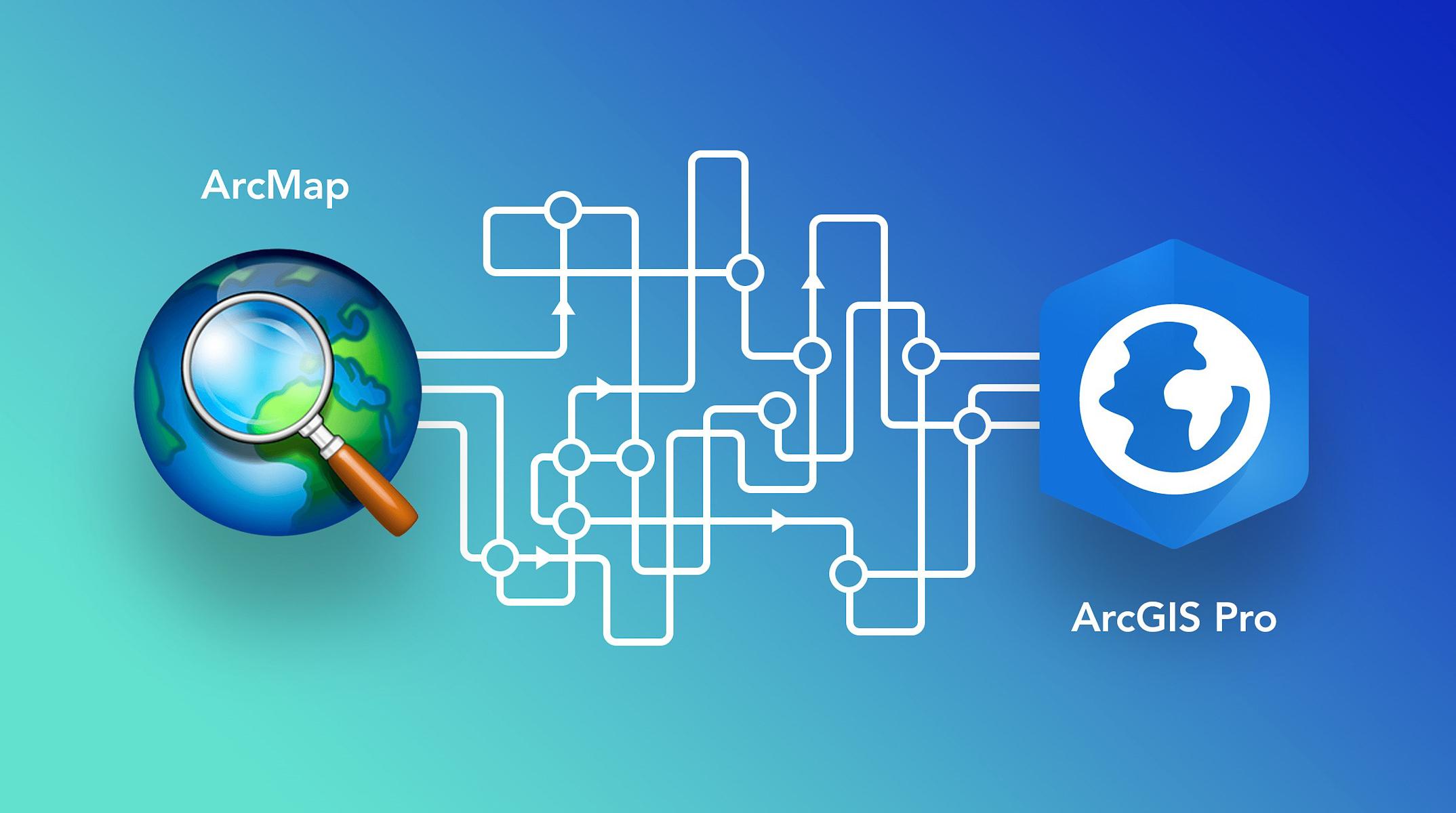 Byt över från ArcMap till ArcGIS Pro