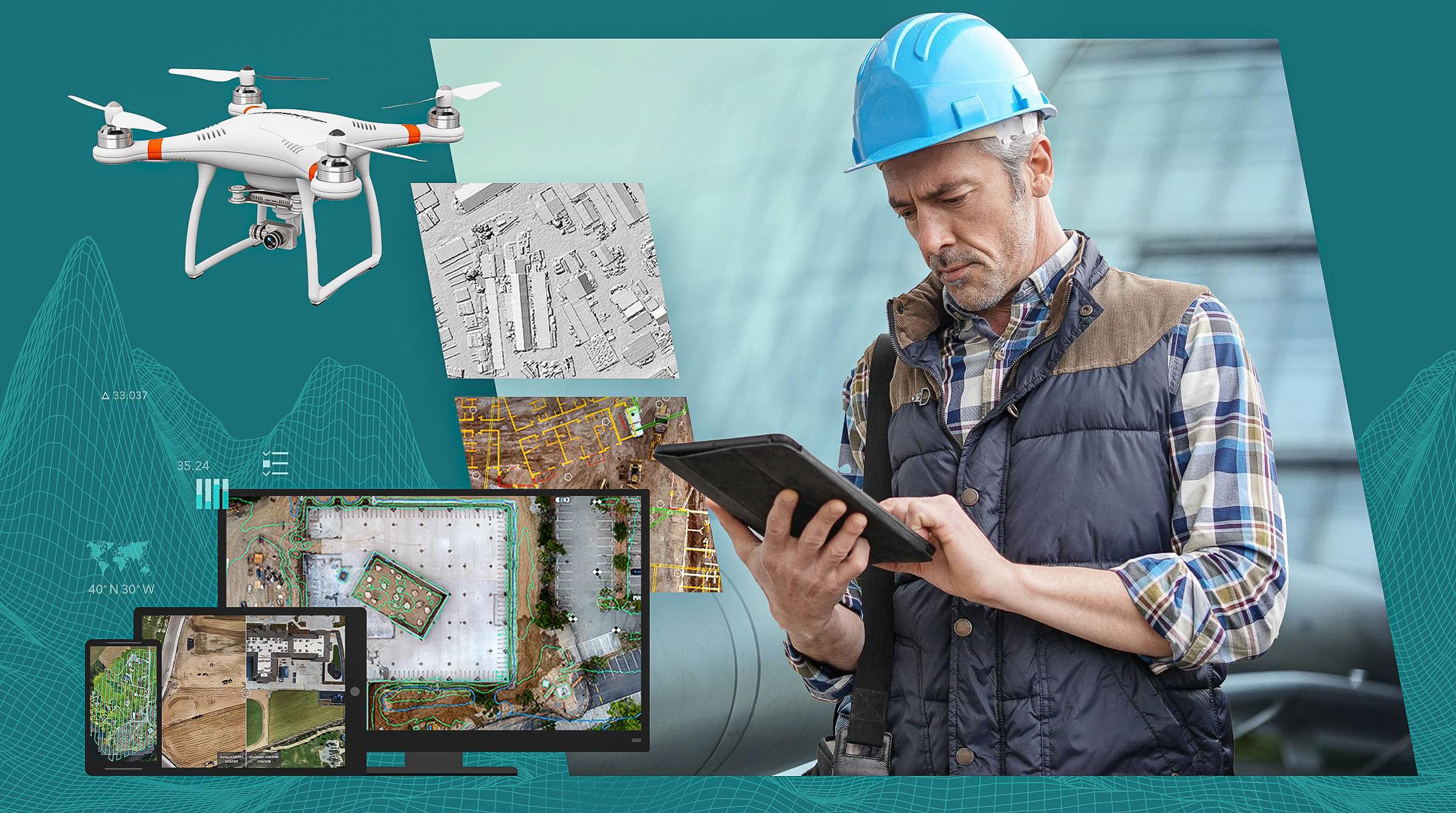 Hantera drönare smart med Site Scan i ArcGIS