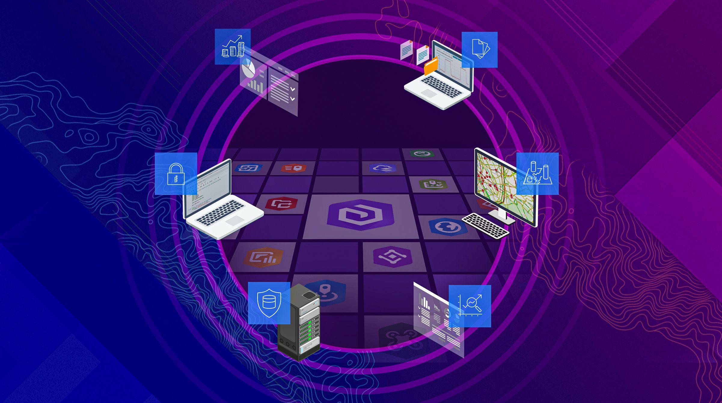 Effektivisera organisationen med ArcGIS som läser affärssystem