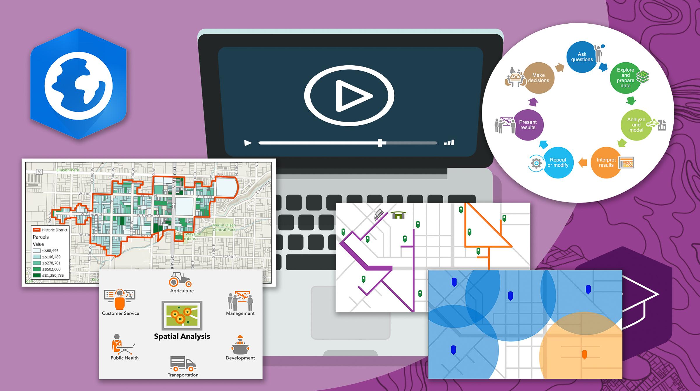 e-kurs i geografisk analys i ArcGIS Pro