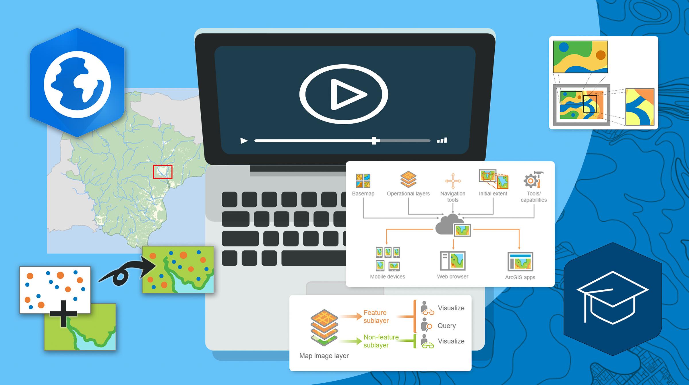 Lär dig skapa webbkarta i ArcGIS Pro med den här e-kursen
