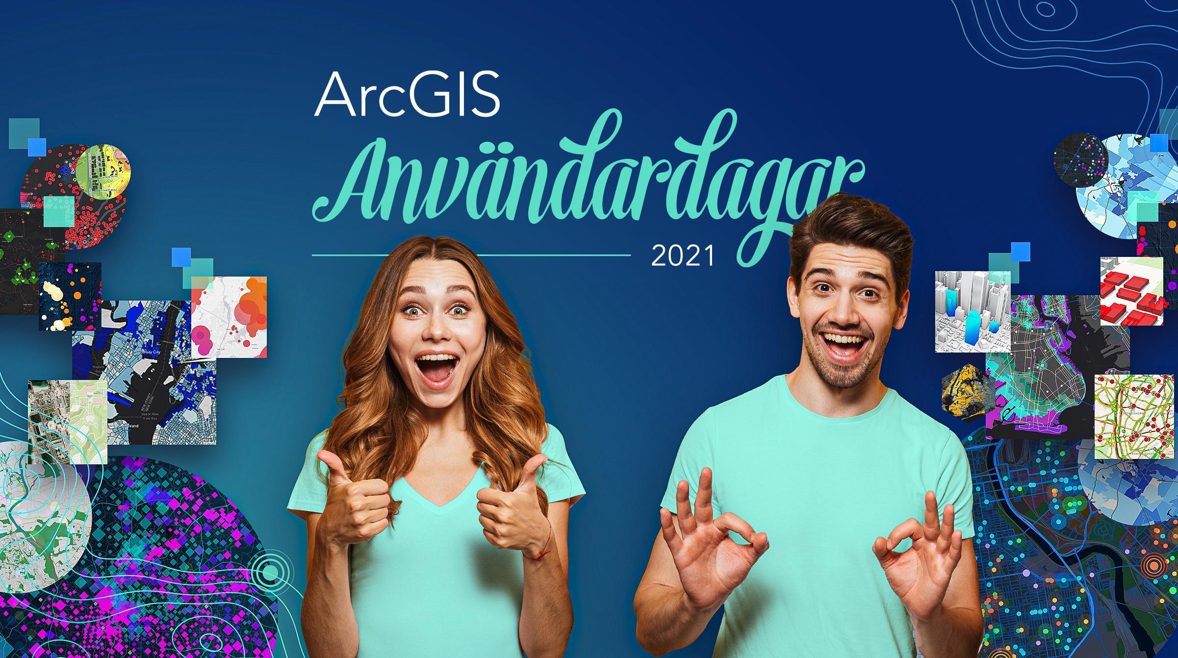 Anmäl dig till ArcGIS Användardagar 2021