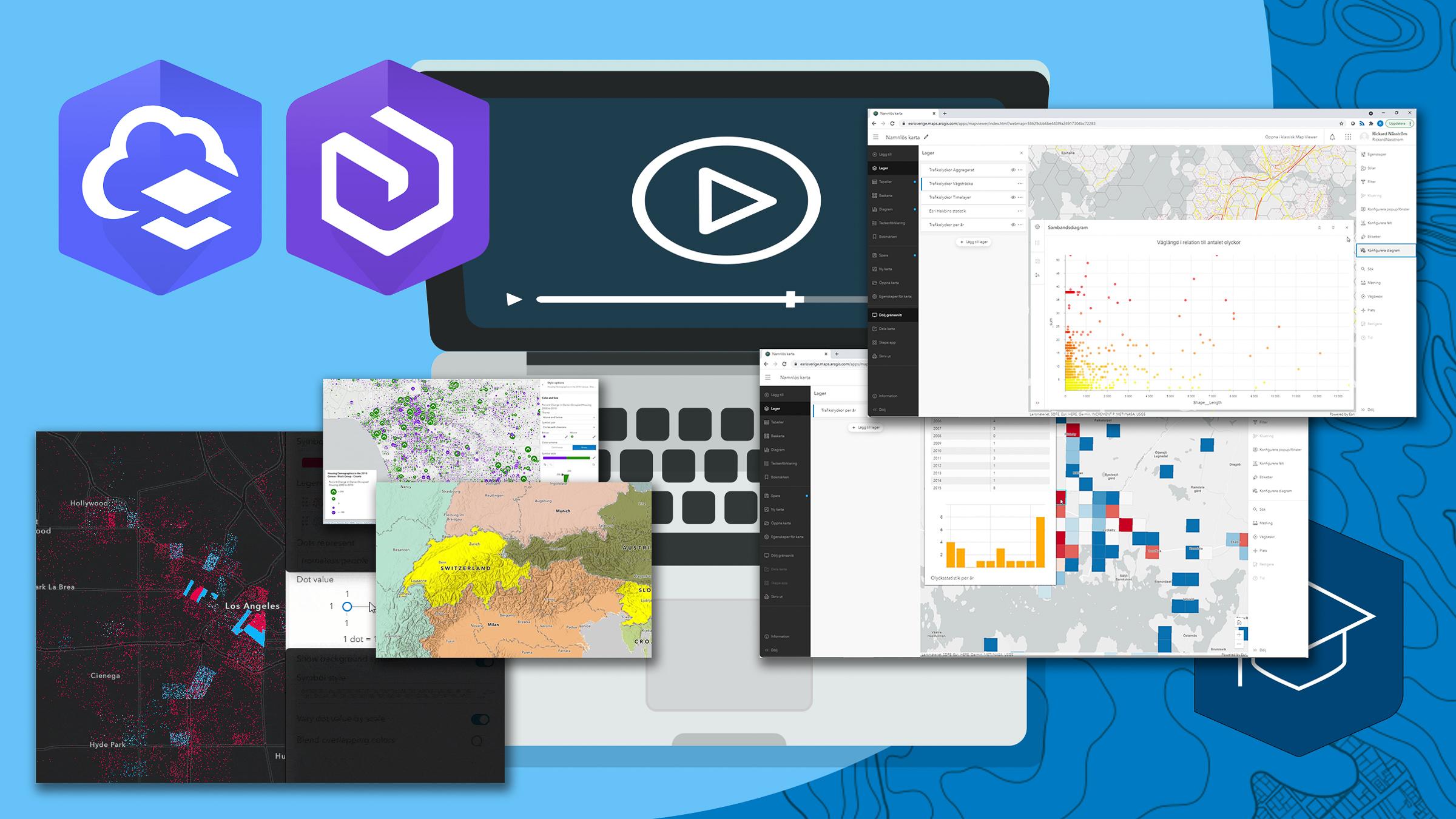 Skapa kartor i ArcGIS med smart mapping