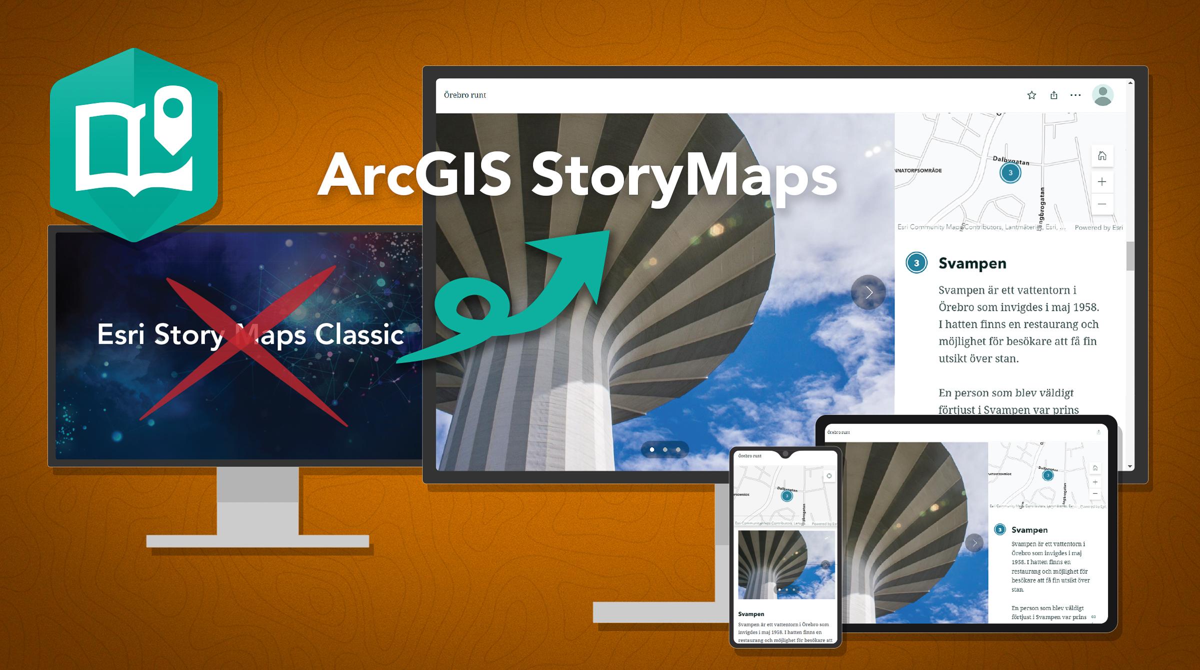 Esri Story Maps Classic fasas ut