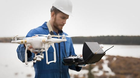 Use Drone2Map for drone support
