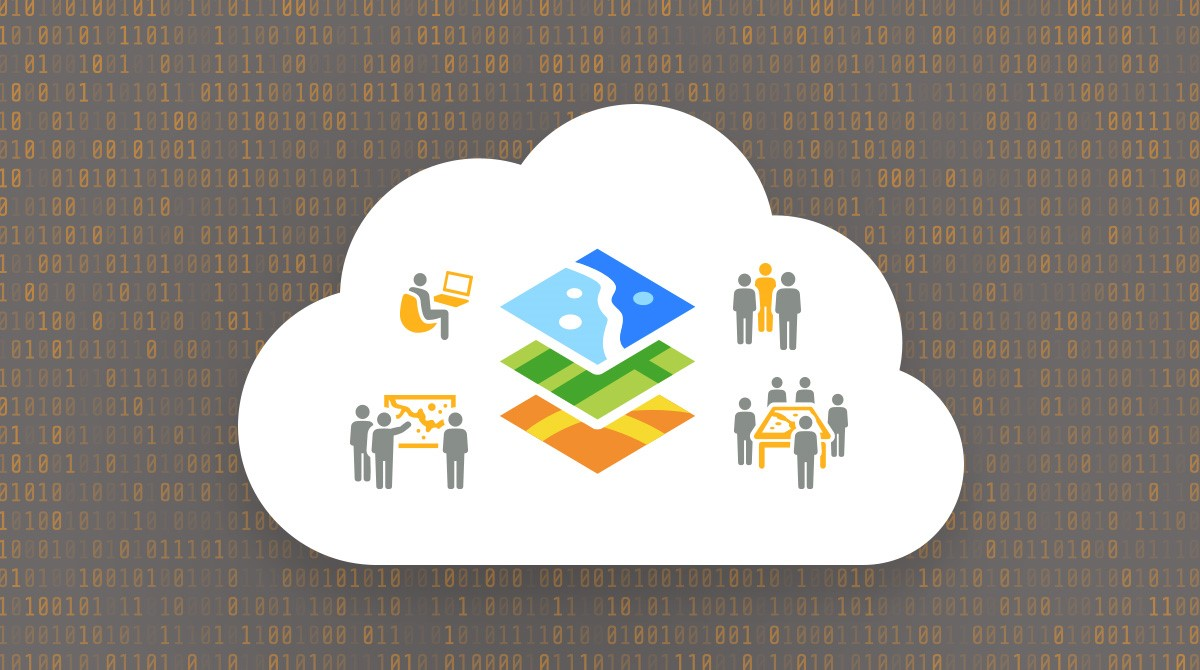 Illustration för en portal för datadriven samverkan