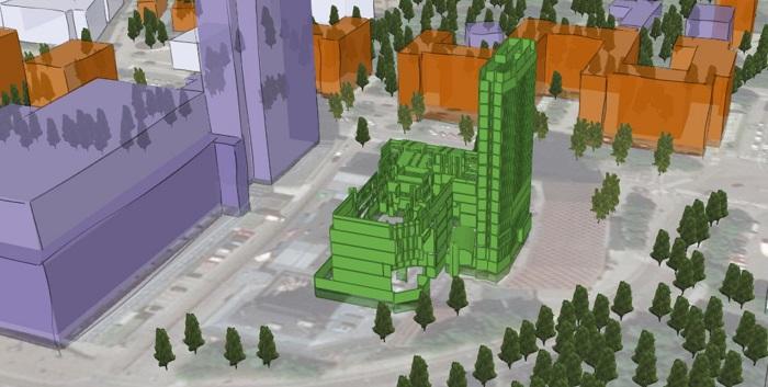 GIS-BIM modell