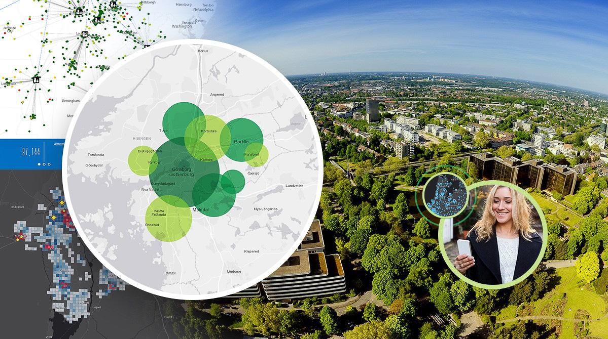 GIS bidrar till hållbarhet