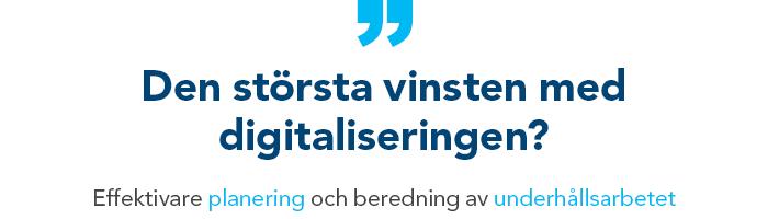 Citat om digitalisering i tillverkande industri