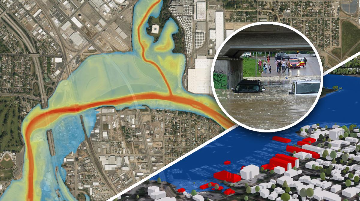 Översvämning av städer
